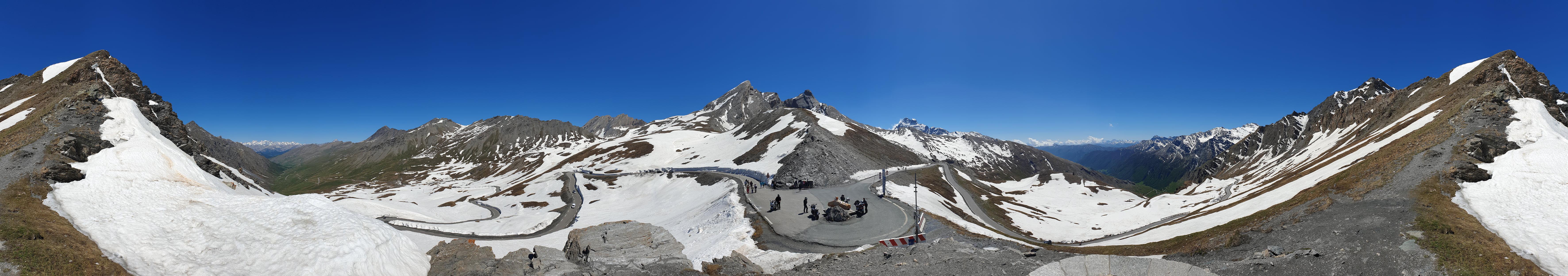 Panorama Col Agnel